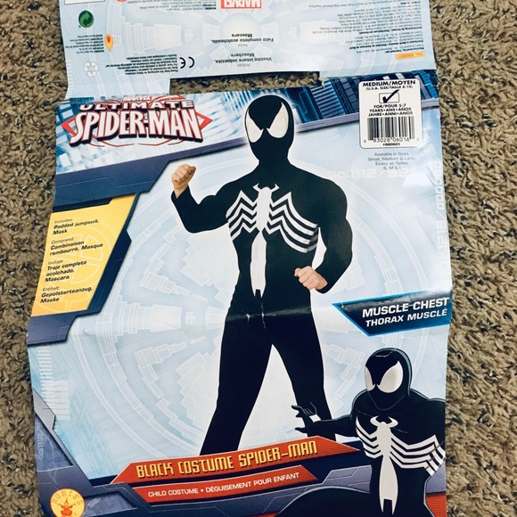 Venom Spider-Man costume outfit & mask included